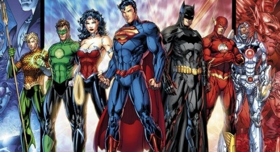 Das Justice League-Team