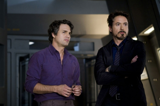Mark Ruffalo und Robert Downey Jr.
